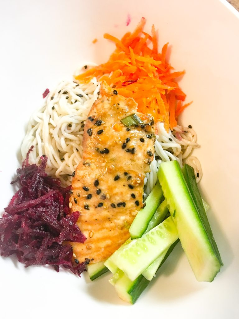 asian sesame salmon