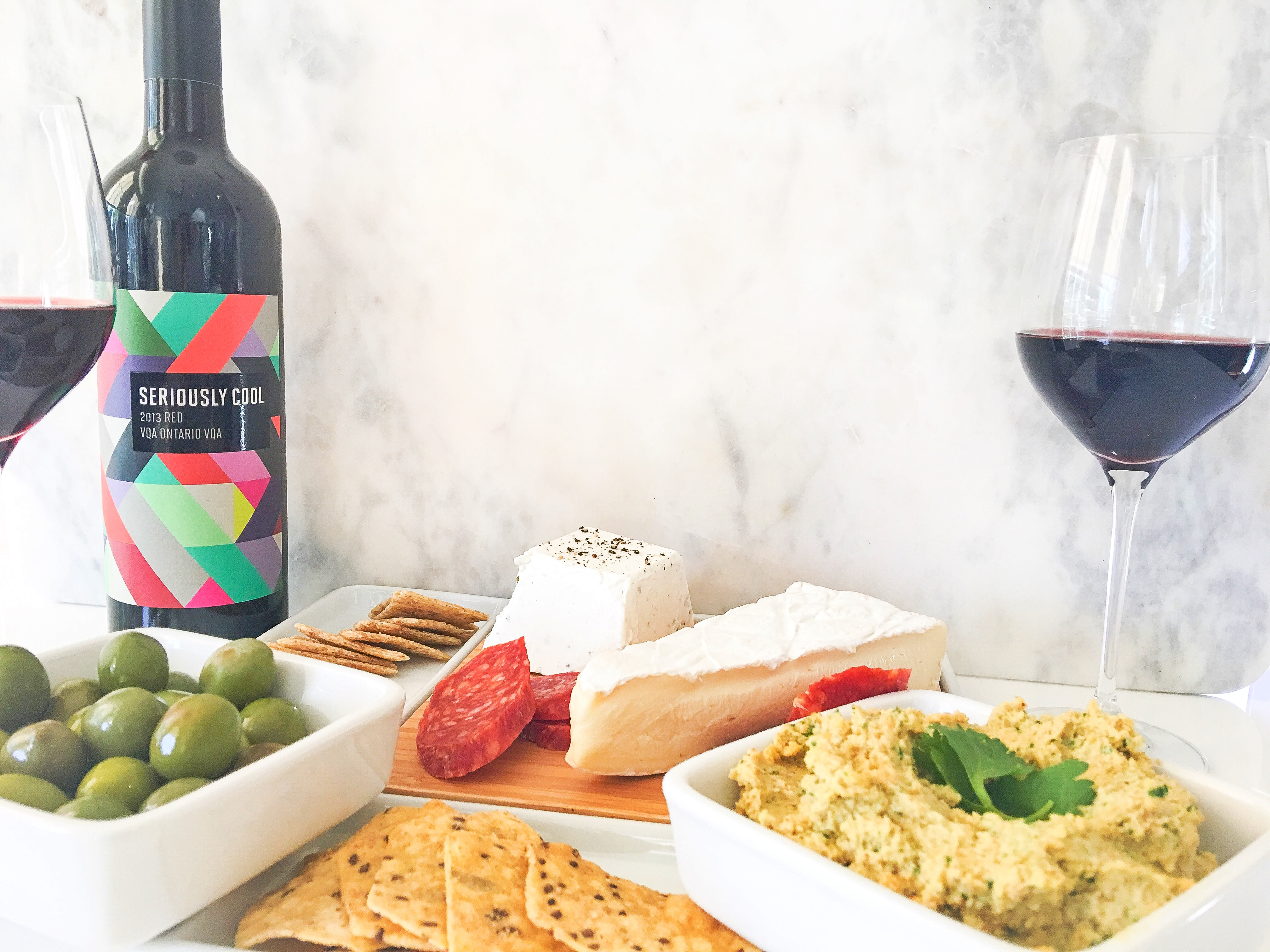 What to Serve with Seriously Cool Wine?