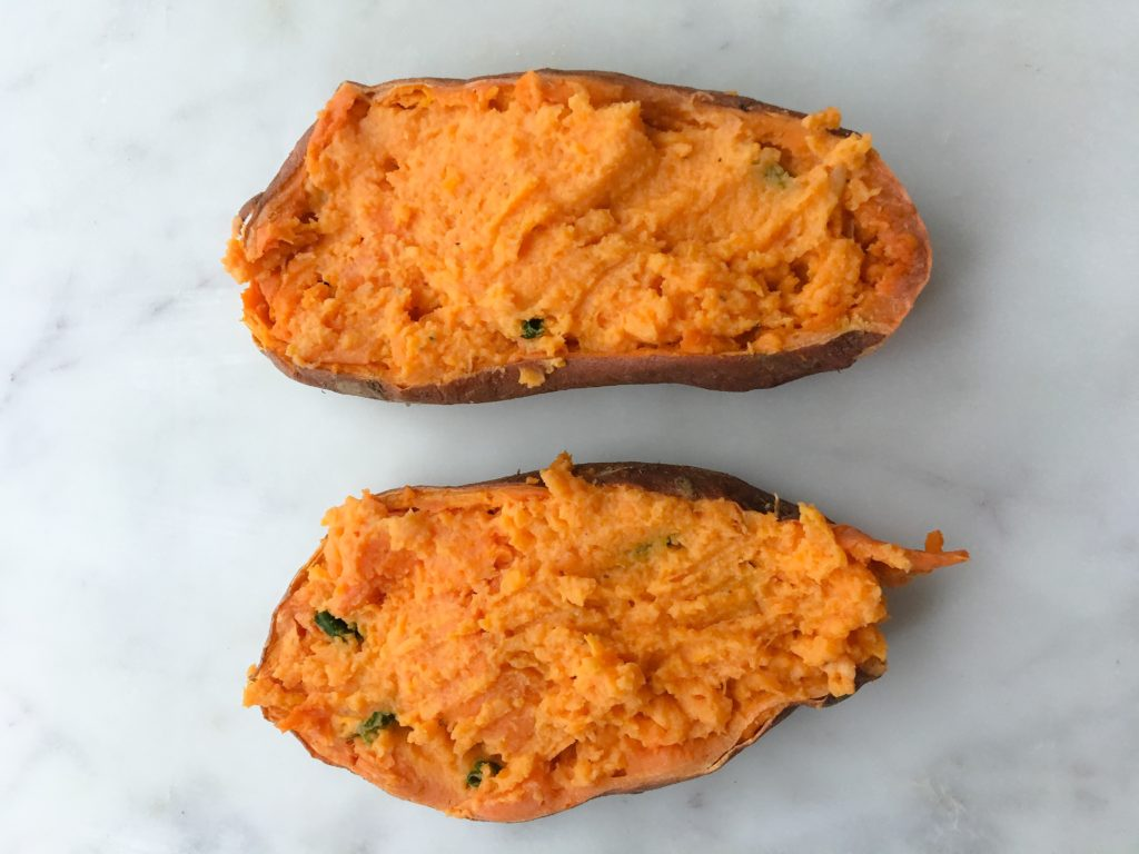 megs cucina twice baked sweet potatoes