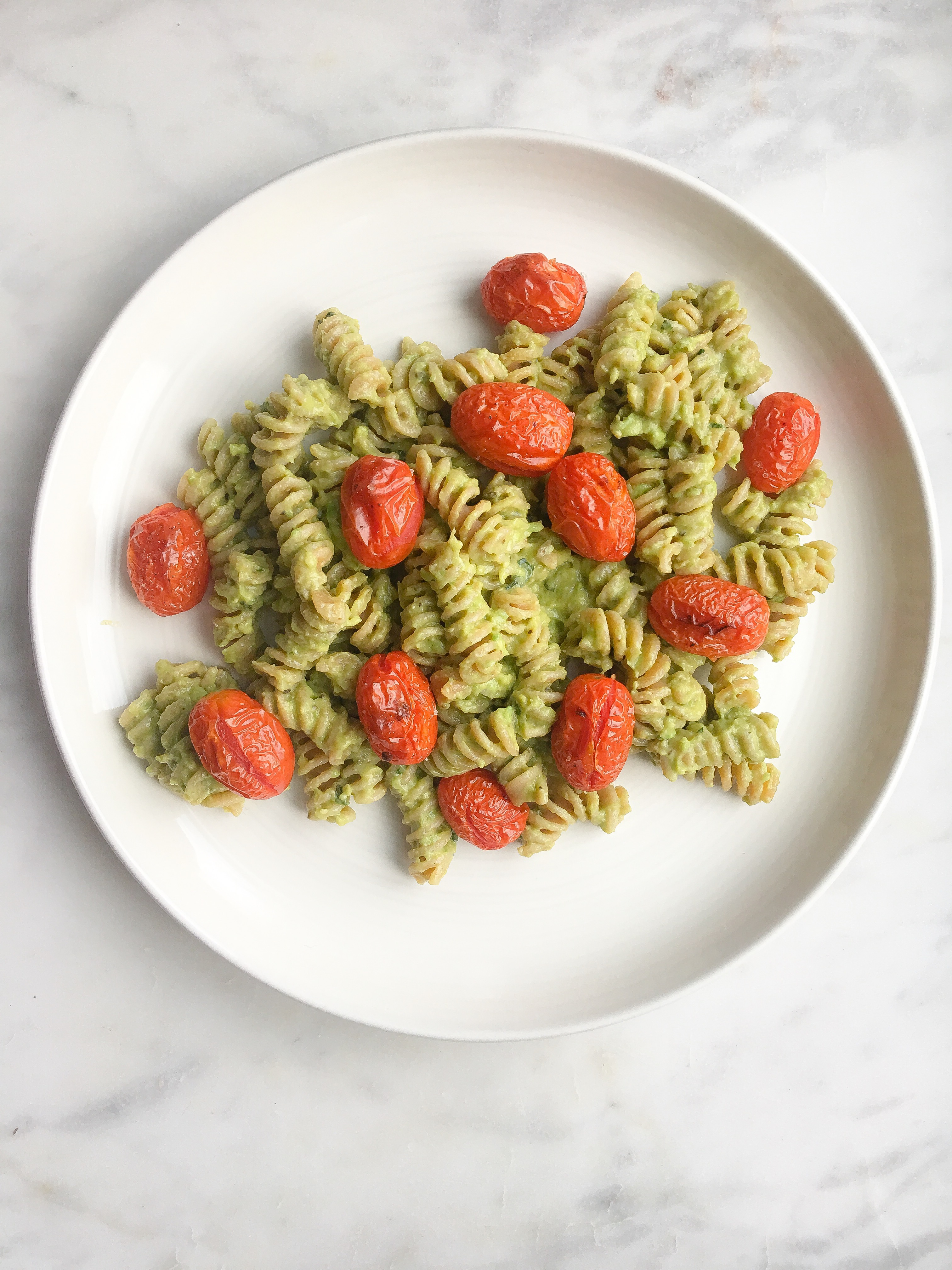 Avocado Pesto Fusilli