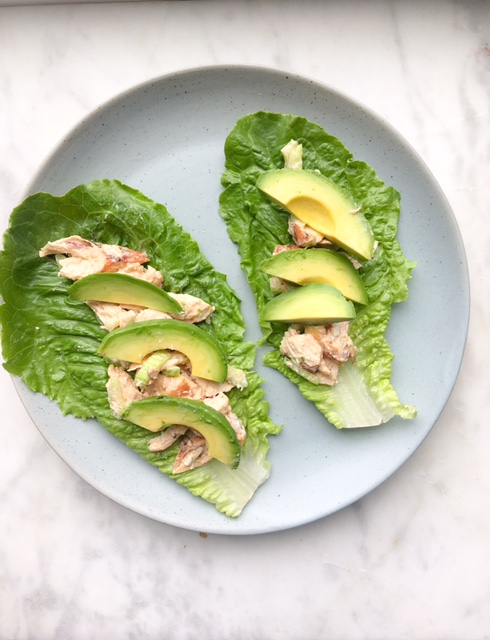 megs cucina chicken salad lettuce wraps
