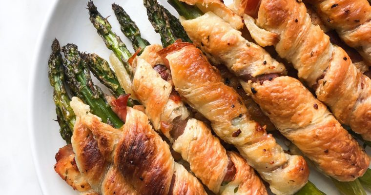 Prosciutto & Phyllo Wrapped Asparagus